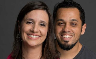 Vanessa Léda e Fabrício Batista